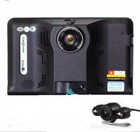Free Map 7 Car Dvr Gps Radar Detector Full HD1080P GPS Android Auto Camera G Sensor