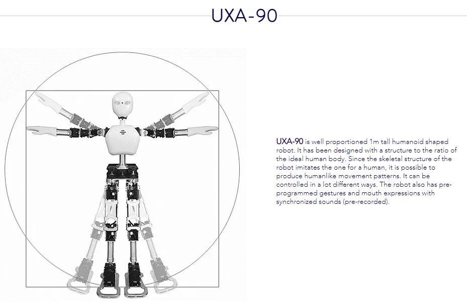 Multifonctionnel robot humanoïde