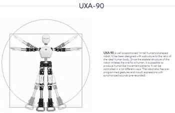 Multifunctional humanoid robot