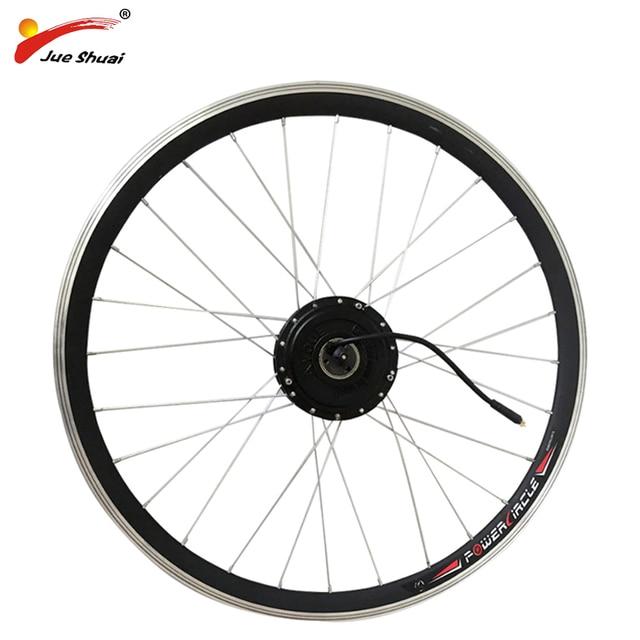 Best Price Electric Bike Motor Wheel 250w 350w 500w Bicycle Conversion Kit 20 24 26 700c Wheels Free Shipping