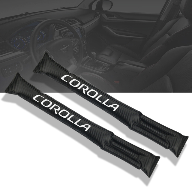 Toyota Corolla Accessories >> Carbon Fiber Leakproof Protective Seat Gap Car Cover Pad For Toyota