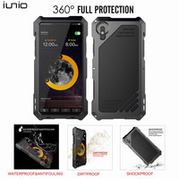 For IPhone X Case Luxury Hard 360 Full Protection Case For IPhone X Cover Hard Shockproof