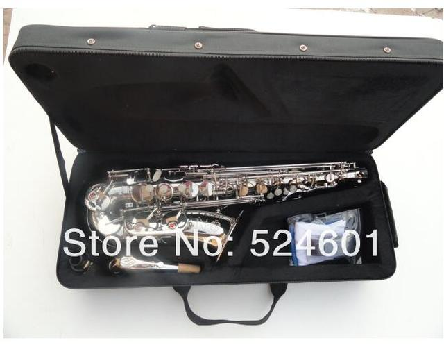 Cheap Henri Selmer Alto Saxophone Musical Instruments Reference 54 Nickel Alto Sax Professional Saxophone Eb