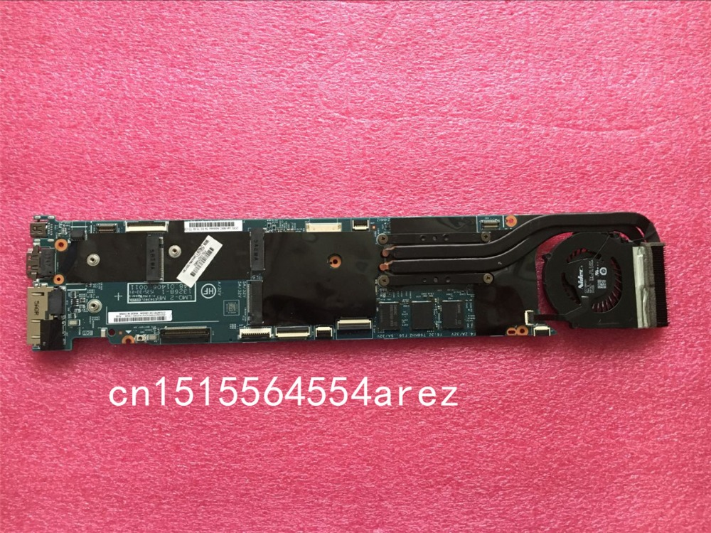 original laptop lenovo thinkpad x1 carbon motherboard mainboard with fan i7 3667u cpu touch 04x0495 w8p Original laptop Lenovo ThinkPad X1 carbon 20BS 20BT motherboard mainboard i7-5600 CPU 8G with fan FRU 00HT361