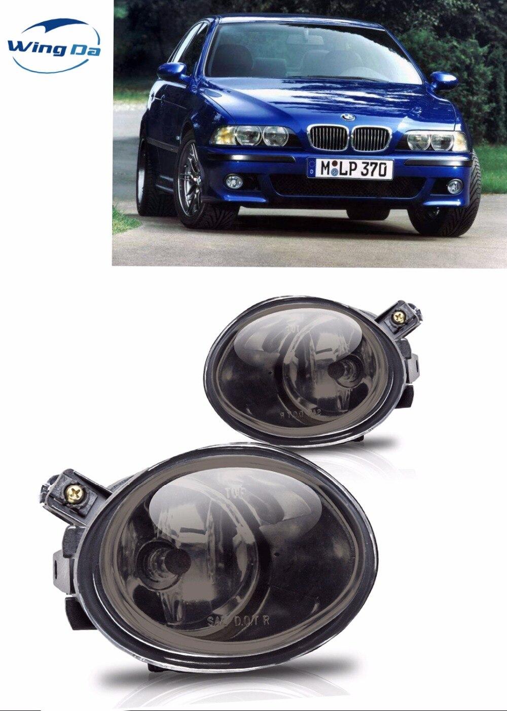 Case for fog lamp BMW E39 M5 1995 2004 Fog light with bulbs Halogen car light