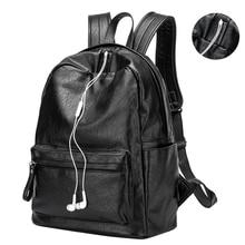 Frauen Rucksack Innenschlitz-tasche Schaffell Leder Frauen Rucksack Adrette Schultasche für Mädchen Solide Littel Rucksäcke