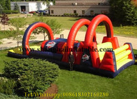Commercial Indoor Playground Equipment Big Bounce House With Slide