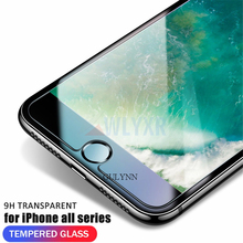 9H Ultra-thin Tempered Glass Films For iPhone 8 7 6S Plus Screen Protector Protective Glass Film For iphone XS XR X Max 5S Cover