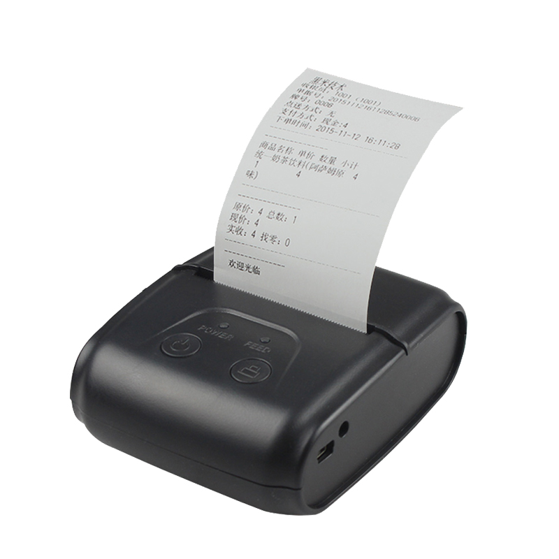 mini printer portable 58mm thermal mobile bluetooth receipt printer android ios system ticket usb rs232 thermal printer quality free sdk 80mm mobile portable thermal receipt printer android bluetooth printer mini android printer support android ios pc