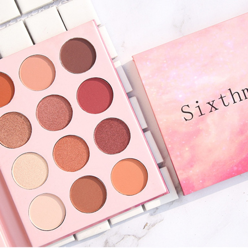 REVIEW: Maybelline The Blushed Nudes Eyeshadow Palette (Plus Dry AND Wet Swatches!) | taken by
