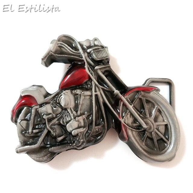 Hot Sale 3D Motorcycle Model Belt Buckle Punk Style Cowboy Heavy Motor Buckles for 4cm Width Belt Metal Clasp Jeans Accessories