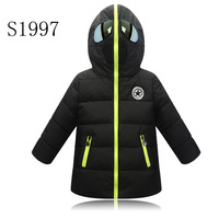 Thickening Girl Winter Coat 2017 New Brand 4 14T Boys Winter Coat Kid Warm Down Parkas