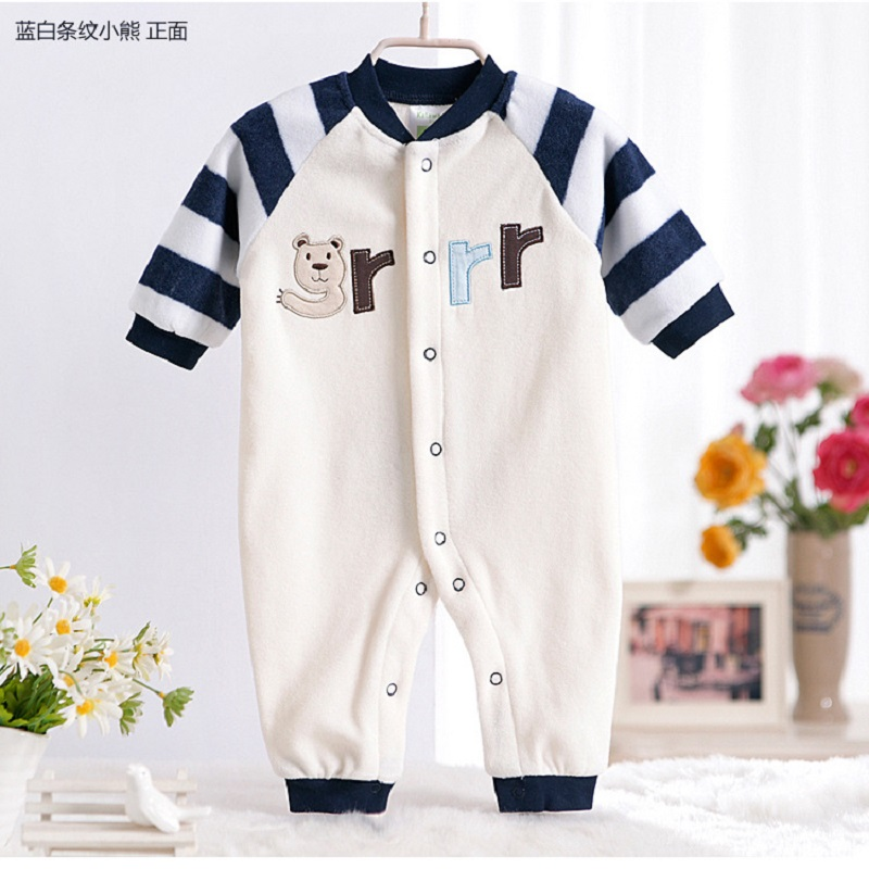 Warm Baby Clothes Brand Baby Boy Girl Clothes Baby Rompers Cotton Fleece Long Sleeve Jumpsuit Baby Newborn bebe Overall Clothes newborn baby rompers baby clothing 100% cotton infant jumpsuit ropa bebe long sleeve girl boys rompers costumes baby romper
