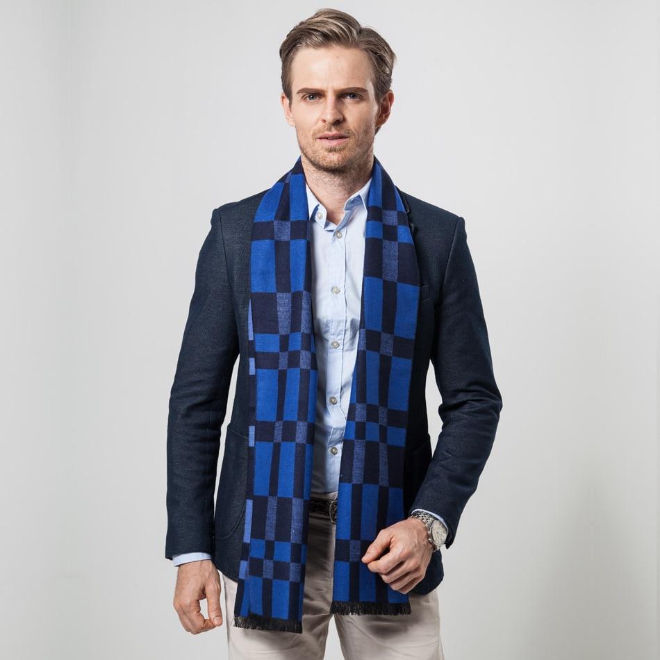 ★ Осень и зима Новый бар отдыха среднего и старого бизнеса Решетчатые шарфы √