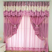 Marvelous WINLIFE Vintage Floral Purple Curtains Fancy Mediterranean Rustic Living  Room Curtains Fairy Girls Bedroom Curtains 2Panels