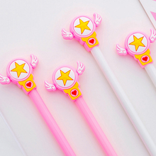 2 pcs/lot Cute Magic wand Gel Pen Promotional Gift Stationery School & Office Supply Kawai Neutral pen Stationery все цены