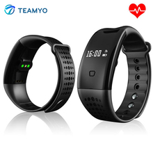 Teamyo W2S Smart Band IP67 Водонепроницаемый крови кислородом монитор сердечного ритма шагомер сна трекер Смарт-браслет для IOS Android