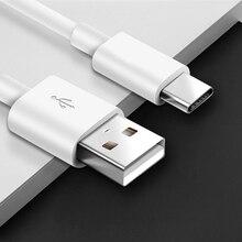 Acgicea kabel USB typu C do Samsung Galaxy S10 S9 Plus OnePlus 6 6t szybkie ładowanie USB C telefon komórkowy ładowarka USB C kabel typu C