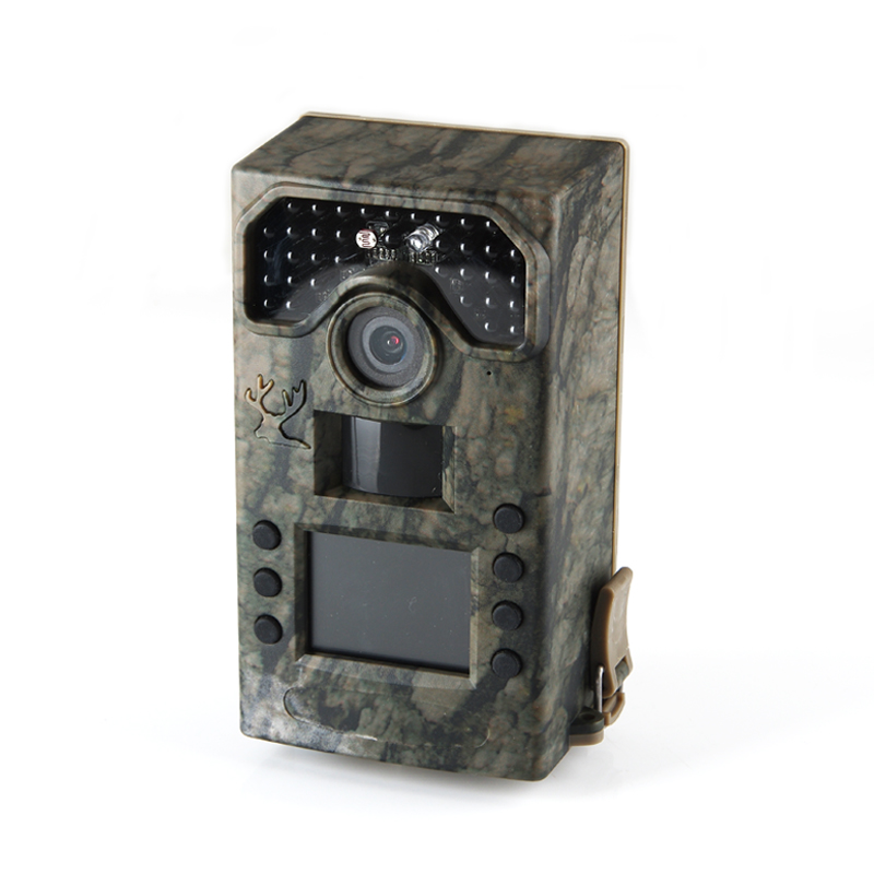 BL280A Covert Surveillance Hunting Trail Cameras 2 0 LCD Display Wildlife Scouting Cameras 36pcs Black IR