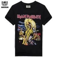 Iron Maiden Brand 3D T Shirt New Style 2015 Heavy Metal Streetwear Men S T Shirts