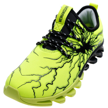 Blades soles Lightning glue surface Men Unisex Casual Shoes 36 47 with 6 colors Elasticity Control Non slip Unisex Sneakers