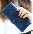 2015 new arrival fashion women wallets retro lace  hasp solid  lady's  long design wallet purse more color  free shipping
