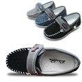 НОВЫЙ Дизайн 1 пара Дышащий Кроссовки МОДА Дети Shoes, БРЕНД скольжению Boy shoes, спорт одноместный Kids Shoes