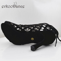 Evkoodance Zapatos De Baile Professiona Black Lady Dancing Shoes High Heel Salsa Latin Ballroom Dance Shoes For Women Evkoo 551
