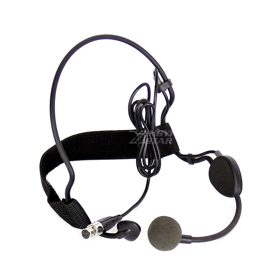 Mini XLR 3 Broches TA3F Plug Filaire Microphone À Condensateur Professionnel Mike Pour SAMSON Karaoké Sans Fil Mic Système Émetteur