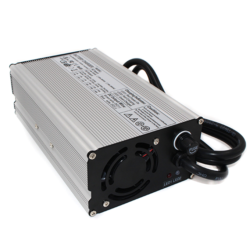 42V 12A Li-ion Battery Charger 10S 36V automatic universal battery charger for ebike wheelchair 42v 8a charger 36v li ion battery smart charger used for 10s 36v li ion battery golf cart charger