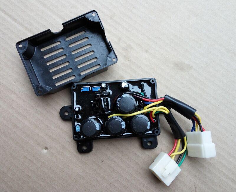 Générateur double usage AVR régulateur de tension de soudage 12 fils soudage AVR 5kw 5kVA 6kVA 7kVA monophasé costume pour Kipor Kama
