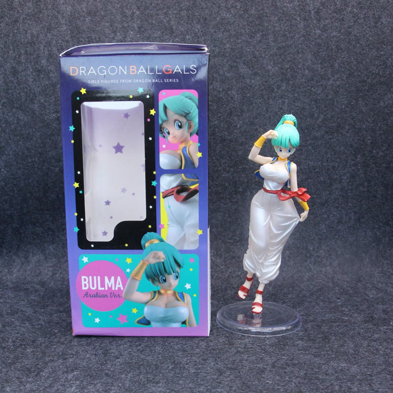 Freeing Dragon Ball Girls Bulma Aladdin Ver Figure 21cm Collection Toy Dragonball Evolution Toys