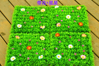 Wholesale Nursery room with plastic lawn turf artificial grass mat boxwood mat 40*60CM