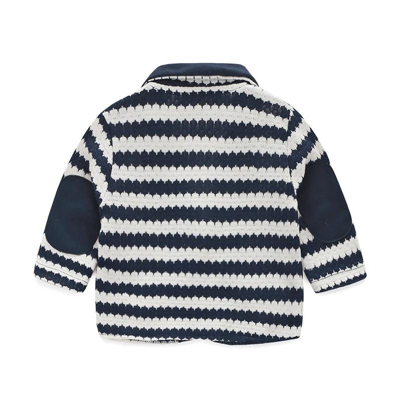 2PCS/0-24Months/Spring Autumn Newborn Clothing Sets Stripe Jacket+Gentleman Suit Infant Jumpsuit Baby Outfit Boys Clothes BC1157