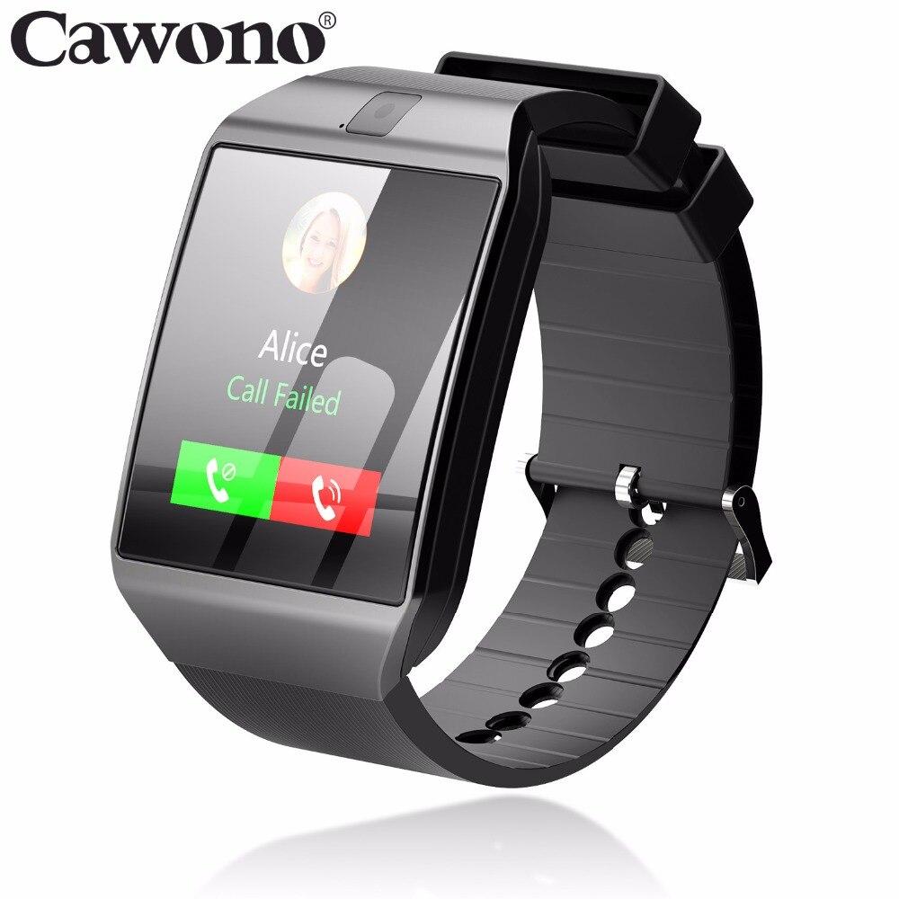 Cawono Bluetooth G12 Astuto Della Vigilanza con la Macchina Fotografica Smartwatch TF SIM Card per il iphone Samsung HTC LG HUAWEI Telefoni Android PK DZ09 A1