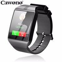 Cawono Bluetooth G12 Smart Horloge met Camera Smartwatch TF SIM Card voor iPhone Samsung HTC LG HUAWEI Android Telefoons PK DZ09 A1