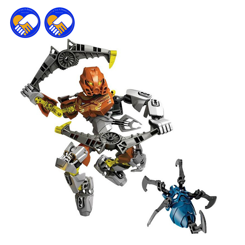 (A Toy A Dream)XSZ 707-3 Bionicle CALI master of water Figures XSZ Building Block Bricks Toys Sets BABY TOYS FW302