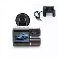 Dual Lens Car DVR Camera I1000S Full HD 1080P 2 0 LCD Dash Cam Rear View
