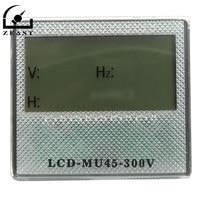 AC 80-300V 3in1 LCD AC Voltmeter Herz Tester Stunde Meter AC Voltmeter Frequenz Tester Timer 40,0- 70,0Hz Für Generator