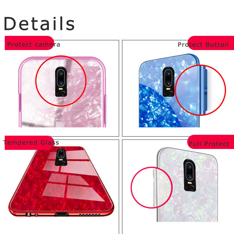 59e2b8d0376 ... Oneplus 6 case cover oneplus 6 tempered Glass fashion luxury woman case  one plus 6 cover ...
