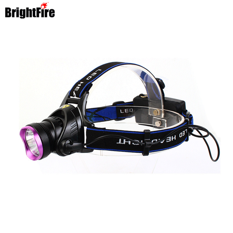 Ultra Bright CREE 3 Mode LED Headlamp Strong Lumens Headlight Waterproof Bike light Head Light with Charger