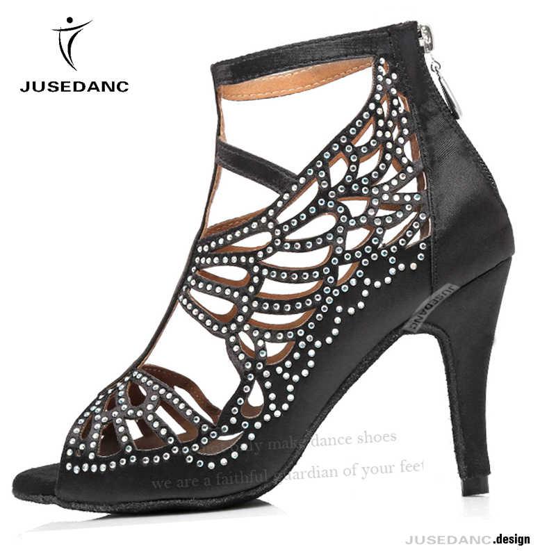 أحذية جاز للنساء ، أحذية رقص لاتينو للنساء ، أحذية رقص مريحة للنساء ، أحذية سالسا جديدة للخريف