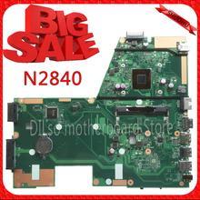 Новинка! Для ASUS X551MA Материнская плата ноутбука N2840U X551MA материнской 90NB0480-R00100 REV2.0 100% тестирование