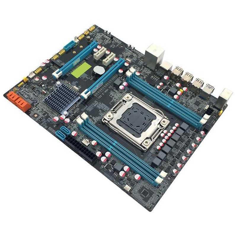 X79 ديلوكس النسخة اللوحة Lga2011 4 قناة Ddr3 الذاكرة M.2 Usb3.0 Sata3 Pci-E جهاز كمبيوتر شخصي سطح اللوحة الألعاب Sata3.0