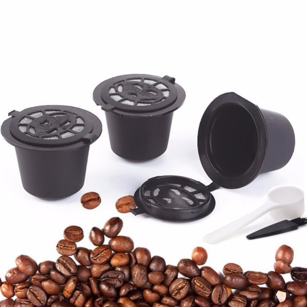 3pcs/set Rechargeable Reusable Pod Nespresso Coffee Capsule Filter Kitchen Filters Coffee Filter Kitchen Accessories3pcs/set Rechargeable Reusable Pod Nespresso Coffee Capsule Filter Kitchen Filters Coffee Filter Kitchen Accessories