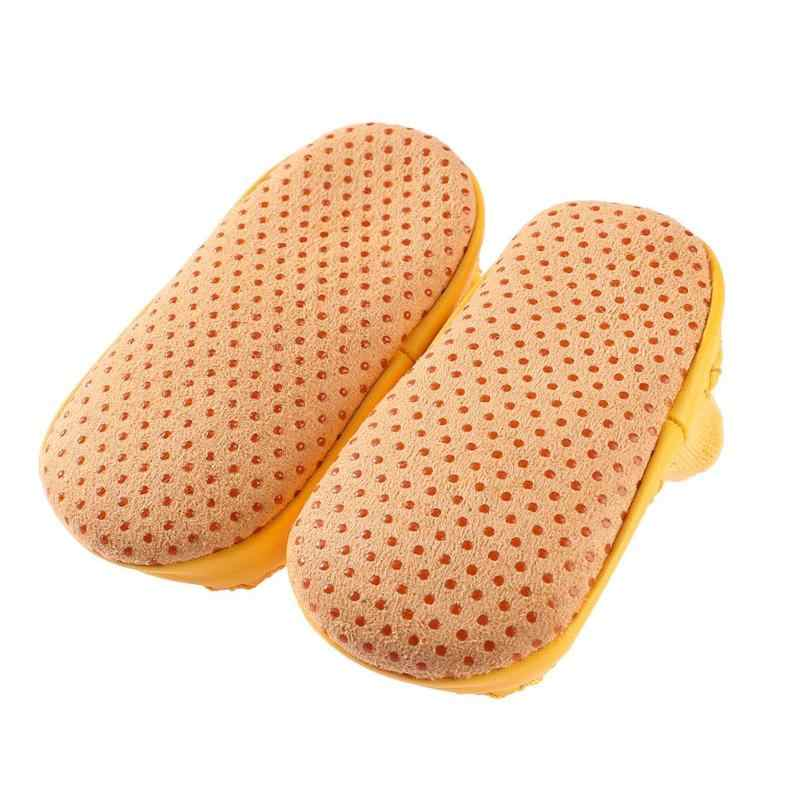 Нескользящие забавные домашние носки-тапочки для новорожденных 2018 г. Носки для маленьких мальчиков с резиновой подошвой, милые весенне-осенние зимние носки для маленьких девочек