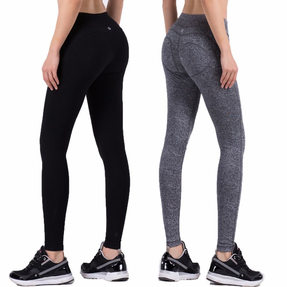 Women Solid Running Pants Compression Tights Sexy Hip Push Up Leggings Elasticity Slimming Fitness Yoga Pants Quick Dry Trousers women s quick dry lycra pleated yoga trousers running pants leggings