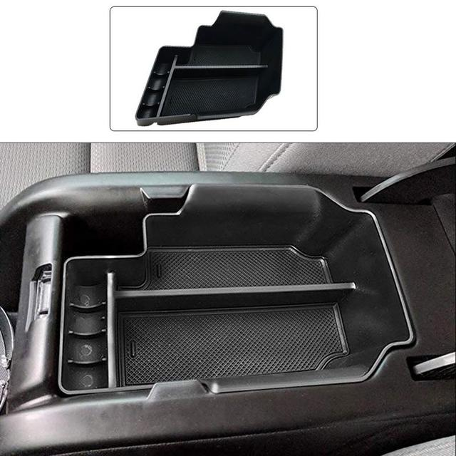 Center Console Organizer Tray Storage Box Canyon For Chevrolet