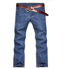 Высокое Качество новый дизайн бренда тонкий прямой мужчин джинсы повседневная бизнес летние джинсы Бесплатная Доставка MF7563241