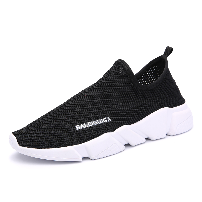 Summer Breathable Mesh Shoes Walking Shoes Super Light Couple Sneakers Runing Black Boys Girls Sport Comfortable Original Hot